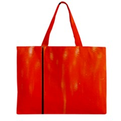 Abstract Orange Mini Tote Bag