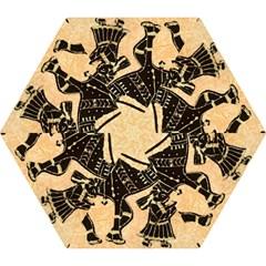 Antique Apparel Art Mini Folding Umbrellas