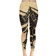 Antique Apparel Art Leggings  by Modern2018