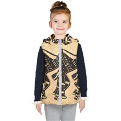 Antique Apparel Art Kid s Hooded Puffer Vest by Modern2018