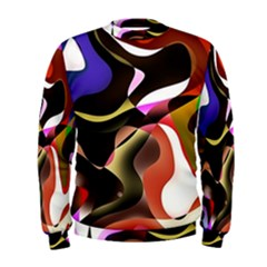 Abstract Full Colour Background Men s Sweatshirt by Modern2018