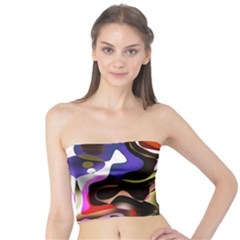 Abstract Full Colour Background Tube Top