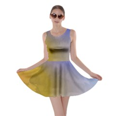 Abstract Smooth Background Skater Dress