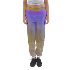 Abstract Smooth Background Women s Jogger Sweatpants
