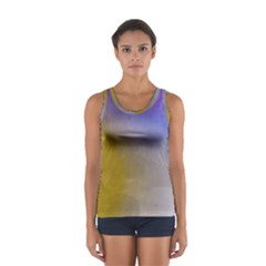 Abstract Smooth Background Sport Tank Top