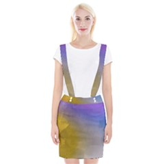 Abstract Smooth Background Braces Suspender Skirt