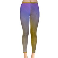 Abstract Smooth Background Inside Out Leggings