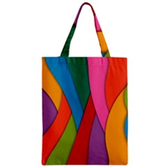 Abstract Background Colrful Classic Tote Bag