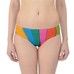 Abstract Background Colrful Hipster Bikini Bottoms