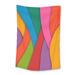 Abstract Background Colrful Small Tapestry