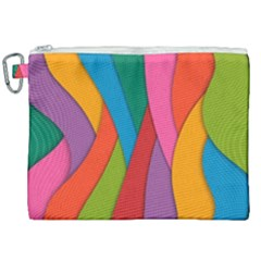 Abstract Background Colrful Canvas Cosmetic Bag (xxl) by Modern2018