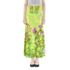 Butterflies Full Length Maxi Skirt