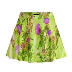 Butterflies Mini Flare Skirt by girleyjanedesigns