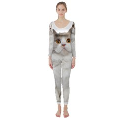 Cutefat Cat  Long Sleeve Catsuit