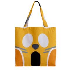 Cat Emoji  Grocery Tote Bag