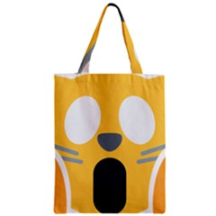 Cat Emoji  Zipper Classic Tote Bag