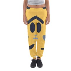 Cat Emoji Women s Jogger Sweatpants