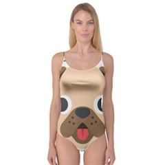 Dog Emojione Camisole Leotard
