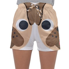 Dog Emojione Sleepwear Shorts