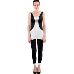 Paw Foot Print One Piece Catsuit