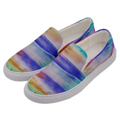 Background Color Splash Men s Canvas Slip Ons by goodart
