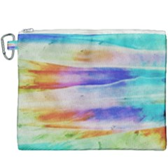 Background Color Splash Canvas Cosmetic Bag (xxxl) by goodart