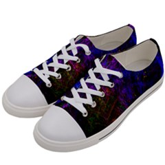 Color Splash Trail Women s Low Top Canvas Sneakers by goodart