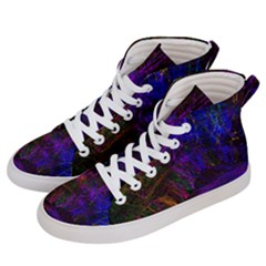 Color Splash Trail Women s Hi Top Skate Sneakers by goodart