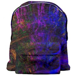 Color Splash Trail Giant Full Print Backpack by goodart