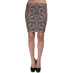 I Am Big Cat With Sweet Catpaws Decorative Bodycon Skirt