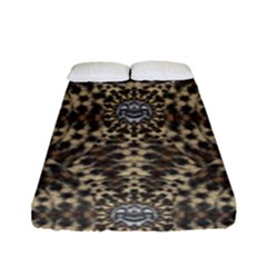 I Am Big Cat With Sweet Catpaws Decorative Fitted Sheet (full/ Double Size)