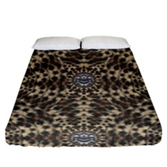 I Am Big Cat With Sweet Catpaws Decorative Fitted Sheet (queen Size)