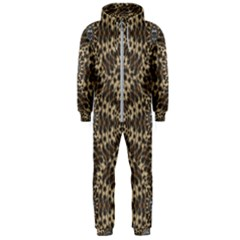 I Am Big Cat With Sweet Catpaws Decorative Hooded Jumpsuit (men)