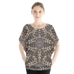 I Am Big Cat With Sweet Catpaws Decorative Blouse