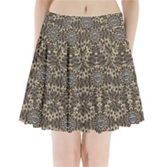I Am Big Cat With Sweet Catpaws Decorative Pleated Mini Skirt