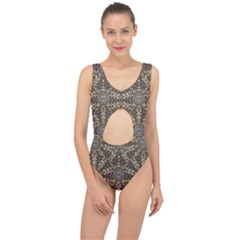 I Am Big Cat With Sweet Catpaws Decorative Center Cut Out Swimsuit