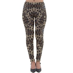 I Am Big Cat With Sweet Catpaws Decorative Lightweight Velour Leggings
