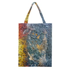 Colorful Abstract Texture  Classic Tote Bag