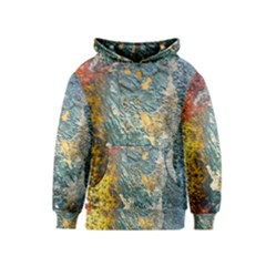Colorful Abstract Texture  Kids  Pullover Hoodie