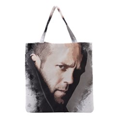 A Tribute To Jason Statham Grocery Tote Bag