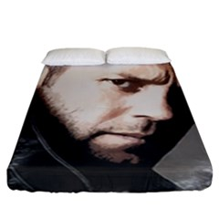 A Tribute To Jason Statham Fitted Sheet (king Size)