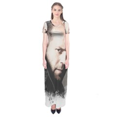A Tribute To Jason Statham Short Sleeve Maxi Dress