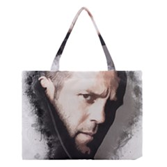 A Tribute To Jason Statham Medium Tote Bag