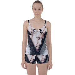 A Tribute To Jason Statham Tie Front Two Piece Tankini