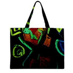 Girls Curiousity 12 Medium Tote Bag