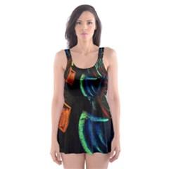 Girls Curiosity 11 Skater Dress Swimsuit