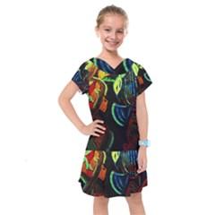 Girls Curiosity 11 Kids  Drop Waist Dress