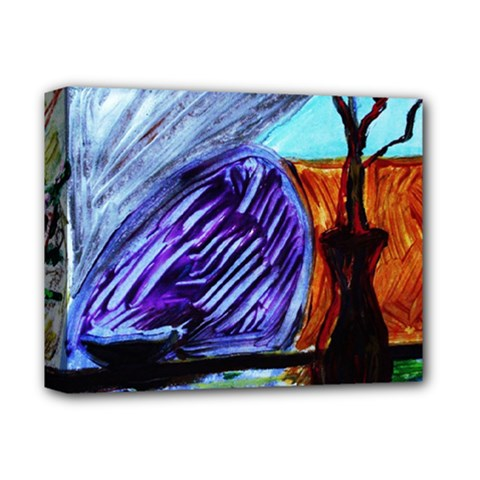House Will Be Built 8 Deluxe Canvas 14  X 11  by bestdesignintheworld