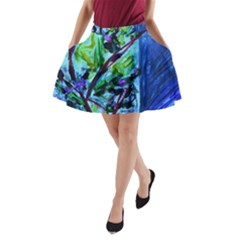 House Will Be Built 1 A Line Pocket Skirt