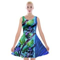 House Will Be Built 1 Velvet Skater Dress